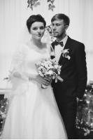 Анна и Руслан свадьба в зимнем стиле