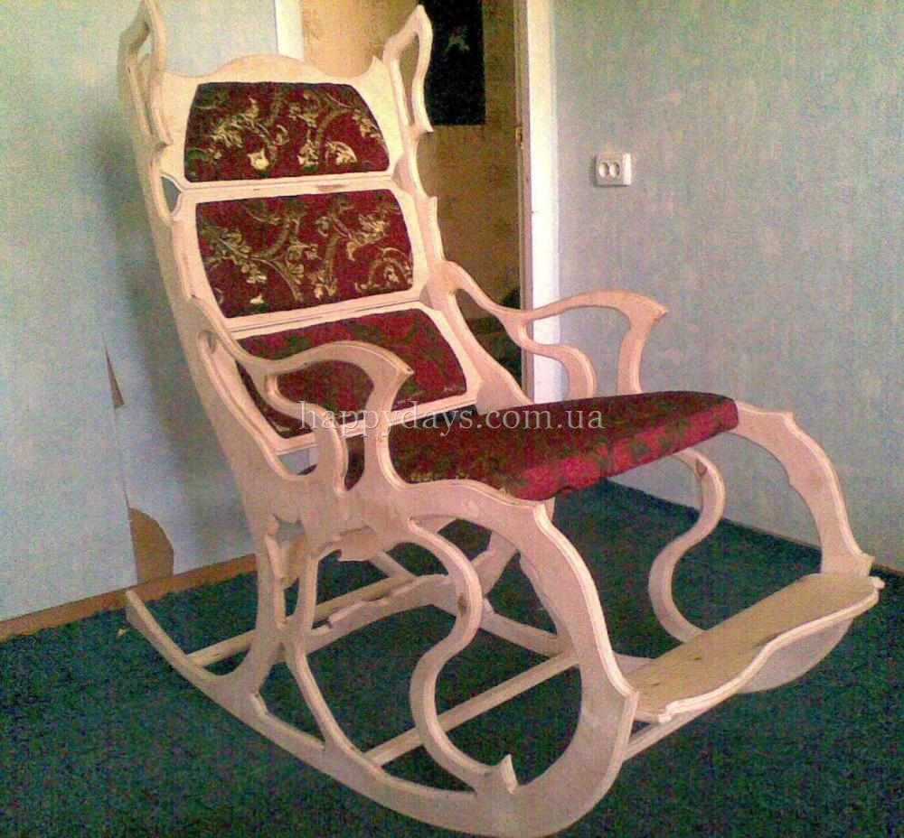 Кресло качалка своими руками из фанеры фото чертежи и ход работы